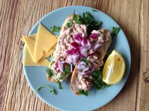 Glutenvrije broodjes tonijn