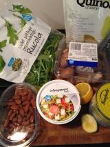 Ingredienten glutenvrije salade