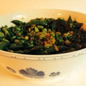 Glutenvrije Groene Groente Salade
