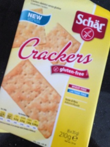glutenvrije crackers